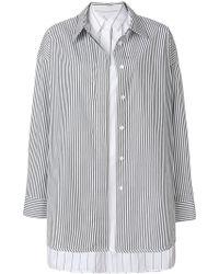 Juun.J - Cotton Shirt - Lyst