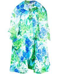 Richard Quinn - Floral Printed Dress Coat - Lyst