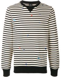 Paul Smith - Stripe Printed Sweatshirt - Lyst