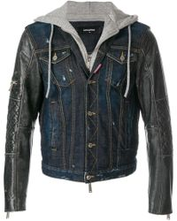 DSquared² - Hooded Jacket - Lyst