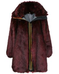 Faith Connexion - Faux Fur Coat - Lyst