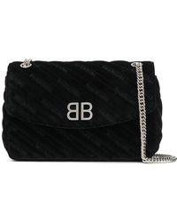 Balenciaga - Bb Round M Shoulder Bag - Lyst