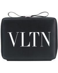 Valentino - Laptop Bag With Vltn Logo - Lyst