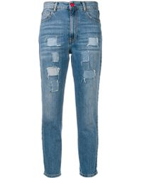 History Repeats - Distressed Side Banded Jeans - Lyst
