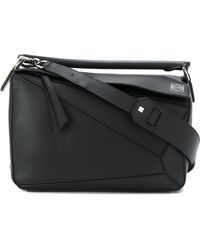 Loewe - Puzzle Leather Shoulder Bag - Lyst