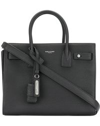 Saint Laurent - Sac De Jour Pebbled Tote - Lyst