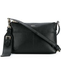 DKNY - Essex Leather Crossbody Bag - Lyst