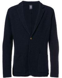 Eleventy - Knitted Jacket - Lyst