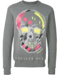 Philipp Plein - Colour Skull Sweatshirt - Lyst