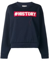 History Repeats - Logo Sweatshirt - Lyst