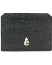 Mark Cross - Leather Credit Card Case - Lyst