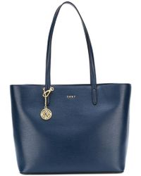 DKNY - Leather Tote Bag - Lyst