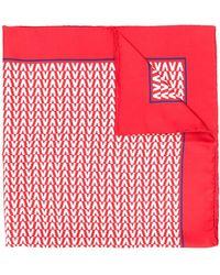 Valentino - Silk Printed Scarf - Lyst