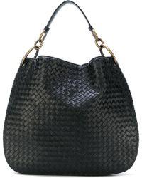 Bottega Veneta - Loop Leather Medium Shoulder Bag - Lyst