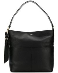 DKNY - Essex Leather Satchel Bag - Lyst