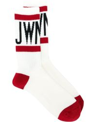 Junya Watanabe - Logo Socks - Lyst