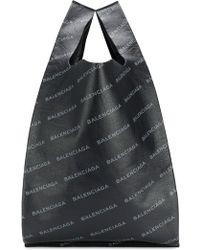 Balenciaga - Printed Leather Bag - Lyst