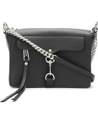 Rebecca Minkoff - Mab Leather Shoulder Bag - Lyst