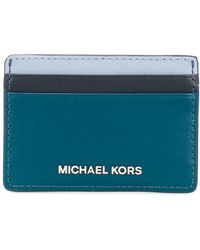 MICHAEL Michael Kors - Leather Card Case - Lyst