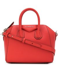 Givenchy - Antigona Mini Leather Bag - Lyst