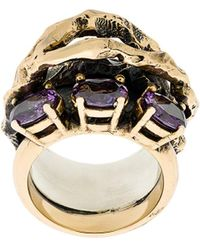 Voodoo Jewels - Purple Aurum Ring - Lyst