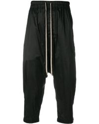 Rick Owens - Drop-crotch Trousers - Lyst