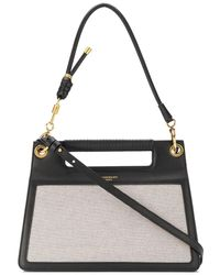 Givenchy - Whip Medium Knotted Canvas And Leather Shoulder Bag - Lyst