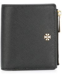 Tory Burch - Robinson Small Leather Wallet - Lyst