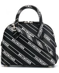 Balenciaga - Ville Xxs Leather Shoulder Bag - Lyst