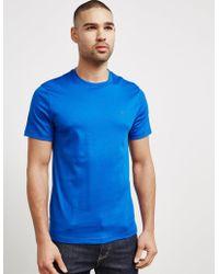 Michael Kors - Mens Short Sleeve Sleek T-shirt Royal Blue - Lyst