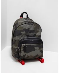 Neil Barrett - Mens Camouflage Backpack - Online Exclusive Olive - Lyst