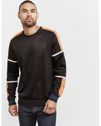 PS by Paul Smith - Mens Cut & Sew Sweatshirt Black - Lyst