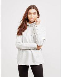 Barbour - Byway Sweatshirt Grey - Lyst