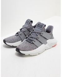 adidas Originals - Womens Prophere Women's Grey/white/red - Lyst