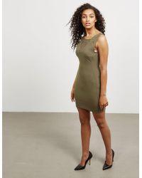 Versace - Womens Crochet Dress - Online Exclusive Green - Lyst