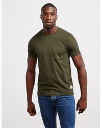 Nudie Jeans - Kurt Short Sleeve T-shirt - Online Exclusive Green - Lyst