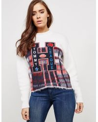 Tommy Hilfiger - Womens Alekza Knitted Jumper - Online Exclusive Cream - Lyst