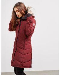 Canada Goose - Lorette Parka Jacket Red - Lyst