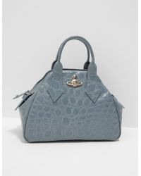 Vivienne Westwood - Womens Yasmin Medium Dome Bag Blue - Lyst