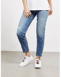 Tommy Hilfiger - Womens Mom Fit Jeans - Online Exclusive Blue - Lyst