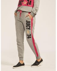 Juicy Couture   French Terry Juicy 74 Pant   Lyst