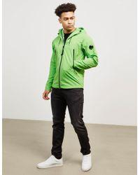 C P Company - Mens Protek Hooded Lightweight Jacket Bright Green/bright Green - Lyst