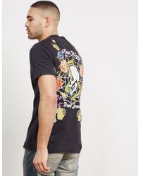 True Religion - Mens Snake Skull Short Sleeve T-shirt Black - Lyst