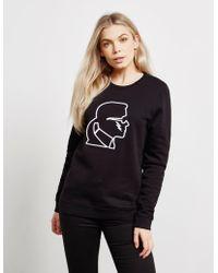 Karl Lagerfeld Bolt Sweatshirt Black