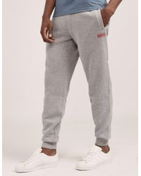 Barbour - Mens International Track Pant - Exclusive - Exclusively To Tessuti Grey - Lyst