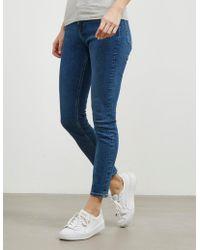 Calvin Klein - Womens Skinny Jeans - Online Exclusive Blue - Lyst