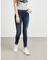 Vivienne Westwood - Womens Anglomania New Monroe Jeggings Blue - Lyst