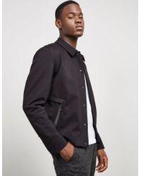 HUGO - Mens Babenu Lightweight Jacket Black - Lyst