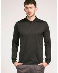 CALVIN KLEIN 205W39NYC - Long Sleeve Polo Shirt - Lyst