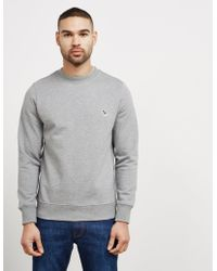 PS by Paul Smith | Mens Zebra Crew Sweatshirt Grey | Lyst